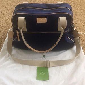 Kate Spate weekender bag
